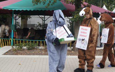 Gerichtsentscheidungen stärken Protest gegen Ponykarussells