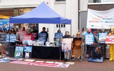 Zum Welttierschutztag: Protest gegen Tierversuche